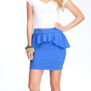 🎉3 for 20$🎉 Bebe peplum skirt